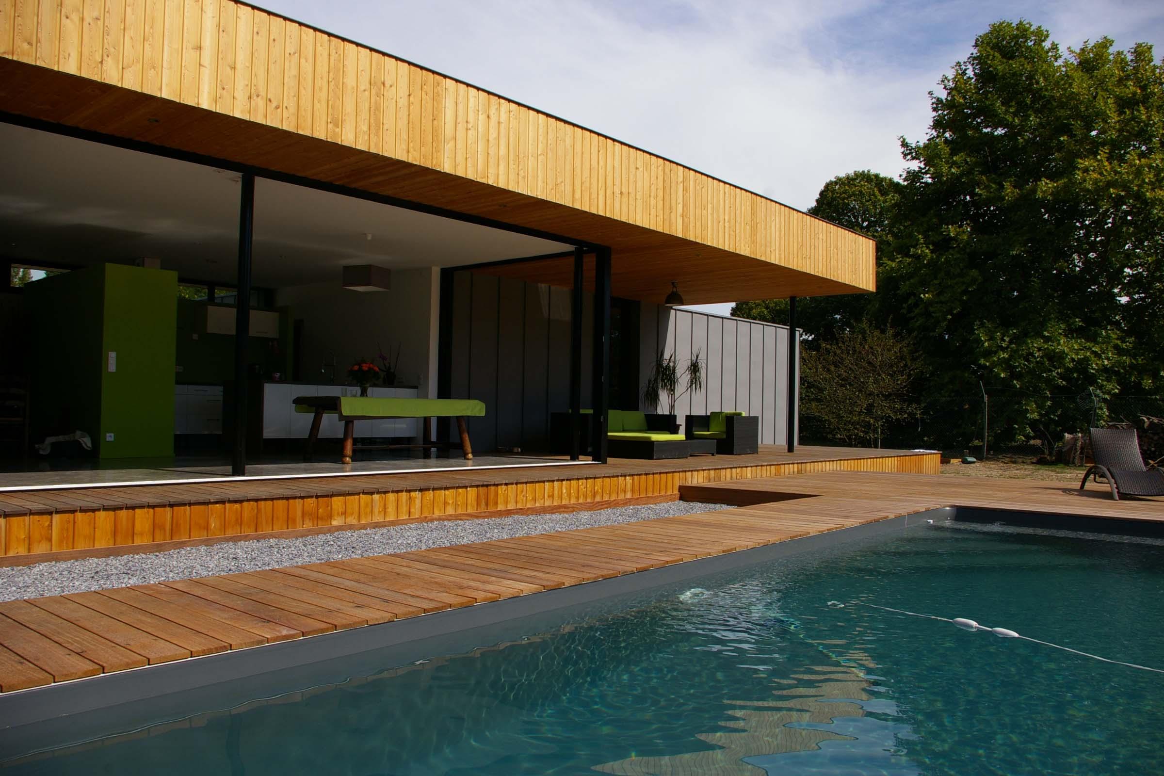 maison architecte bordeaux maison moderne. Black Bedroom Furniture Sets. Home Design Ideas